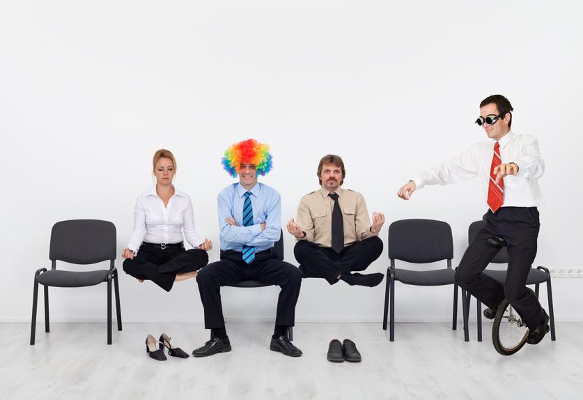 Employees slacking off